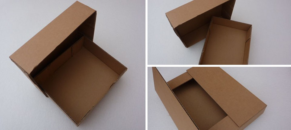 FEFCO style cardboard boxes
