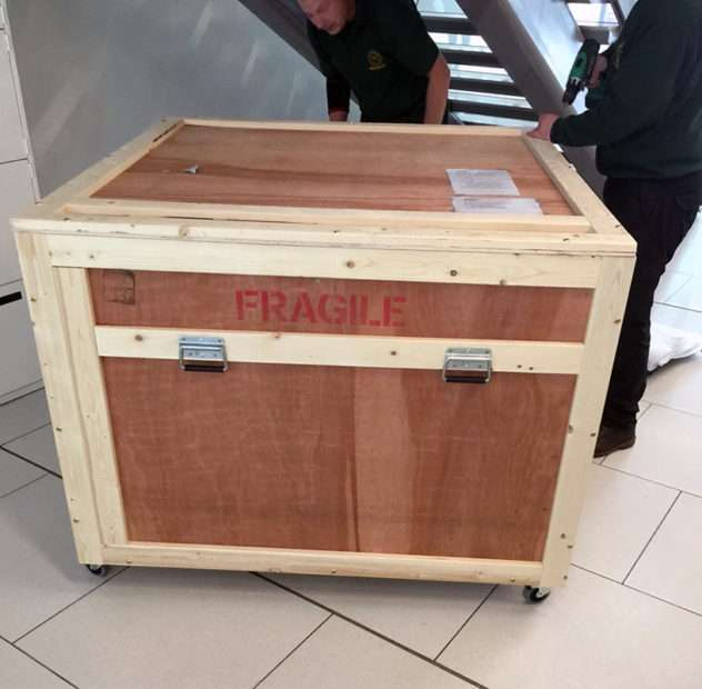 Bespoke packing crate
