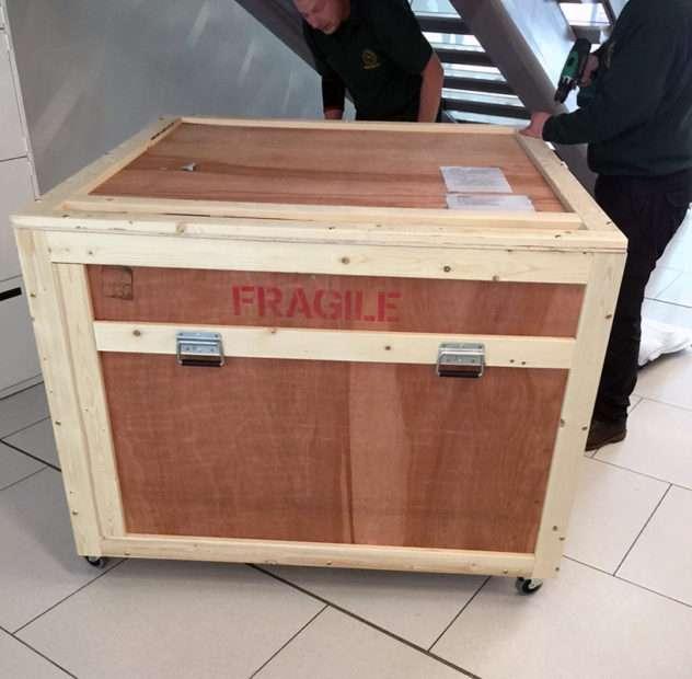 Bespoke packing crate