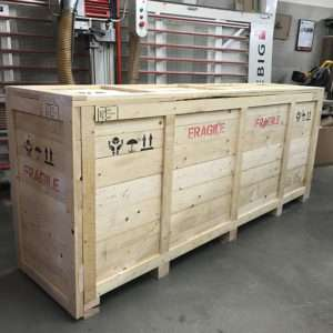 timber packing crate 1-900