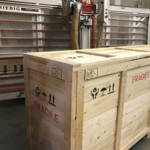 timber packing crates- 16 09 29