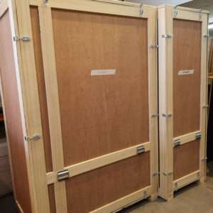 wooden packing case 11 40 20
