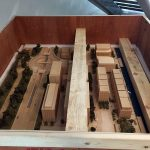 A model of a housing development