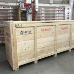 timber packing crate 2-900