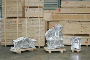 Foil-wrapped cargo items